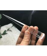 Clear Natural Quartz Crystal 8 Sided Disintegrator Healing L020114 - $78.16