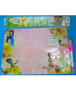 Disney Princess Fairies Hanging Dry Erase Board with Marker Blue Pink or... - $8.50