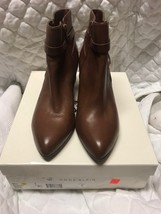 NWB Anne Klein's Chelsey Women's Pointed Toe Brown Ankle Bootie Size 9.5M - $39.99