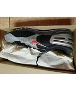 Nike Zoom Shift Silver Red Black 107063 Men's Size 11 Track Shoes New - $77.40