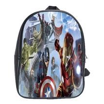 Backpack School Bag The Avengers Fantasy Animation Marvel Superheroes Mo... - $33.00