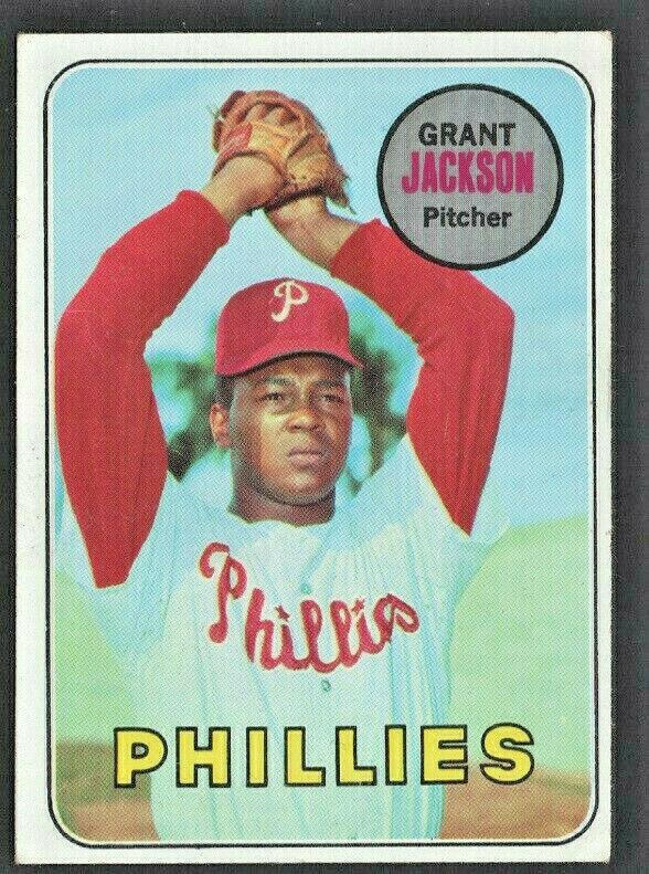 Philadelphia Phillies Grant Jackson 1969 Topps Baseball Card # 174  - $0.70
