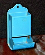 Hanging Match Box Holder AA19-1469 Vintage image 1