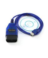 OBD 2 II Diagnostic Scanner KKL VAG-COM 409.1 USB Cable for VW Audi Seat... - $12.37