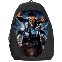 backpack the addams family gothic school sport bag  - $39.79