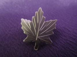 Vintage Canadian Sterling Silver Maple Leaf Pin Tie Tac Signed BOND BOYD - $22.28