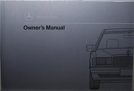 1990 Mercedes 190E 2.6 Owners Manual Parts Service W 201 - $39.99