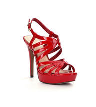Women Jessica Simpson Belamy Dress Sandals Sizes 7-9.5 Lipstick Patent J... - $79.95