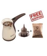 Sinbo SCM-2928 Electric Turkish Coffee Maker + 100Gr/3.5oz coffee + copp... - $11.87+