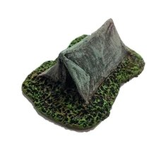 Small Tent 28mm scale pre painted Dungeon Game Terrain Accessories