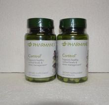 Two pack: Nu Skin Nuskin Pharmanex Cortitrol 60 Capsules SEALED x2 - $97.00