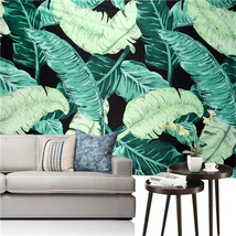 Banana leaves Wall Hanging Tapestry Wall Bedspread Beach Towel Mat Blank... - $468,87 MXN
