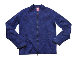 NIKE Sportswear Tech Knit Men's Jacket M Medium Med Blue - $179.99