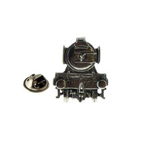 Flying Scotsman Train English Pewter Lapel /tie Pin Badge 3d effect