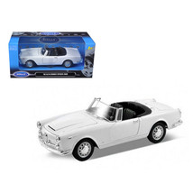 1960 Alfa Romeo Spider 2600 Convertible White 1/24 Diecast Car Model by ... - $35.10