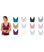 Rhonda Shear 3 pack Pin Up Smooth Bra with Removable Pads - $16.82+