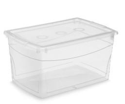 KIS Clear Omni Storage Box , 52-Quart/50-Liter 5-Pack - $81.49
