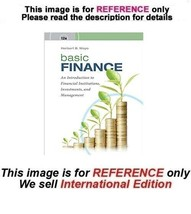 Basic Finance: An Introduction to Financial Institutions, 12th (No Acces... - $59.90