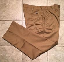 IZOD * Mens Khaki Casual Pants * Size 36(38) x 32 * EXCELLENT - $7.99