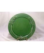 Bordallo Pinheiro 2017 Rabbit Green Dinner Plate - $12.59