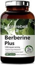 Maximum Strength Berberine Plus, 1200mg Per Serving, 120 Capsule, Powerf... - $29.46