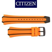 Genuine  CITIZEN Eco Drive  Watch Band Strap  BN0097-11E 26mm Orange /Black - $59.95