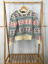 VTG The Woolrich Women's 100% Wool Knitted Crewneck Sweater Size M - $14.67