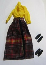 Vintage Barbie Long N Fringy Outfit  - Complete - $28.45