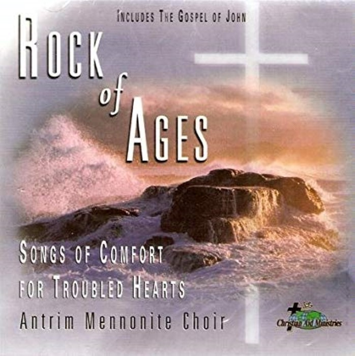 Rock of Ages Songs of Comfort for Troubled Hearts  Cd