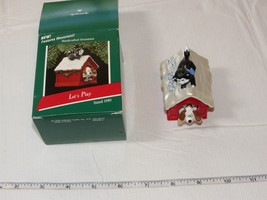 Hallmark  Keepsake Ornament Let's Play Features Movement 1989 Pre-Owned - $29.69