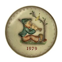 M.J. Hummel 9th Annual 1979 Collector Plate Goebel Singing Lessons Germany - $14.84