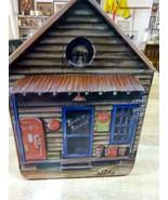 Coca-Cola Coke Birdhouse Tin Jeanne Mack Design  - $14.84