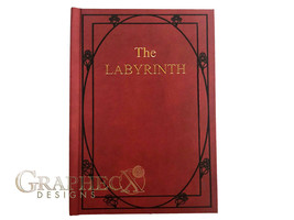 Fan-made The Labyrinth Red Book inspired personalized hardcover journal ... - $36.00