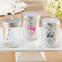 Personalized Printed Glass Mason Jar - Baby (3 Sets of 12)  - $63.99