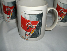 4 Vintage Block China Andy Warhol Peeling Label Campbell Soup Pop Coffee... - $54.45