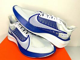 NIB SIZES 8.5 9 9.5 10 10.5 MEN Nike Zoom Gravity Running Shoes White Ra... - $67.84