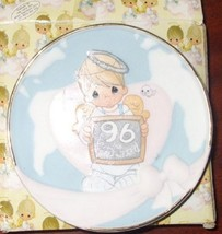 """1996 Peace on Earth... Anyway Precious Moments 4"""" Plate 183377 - $19.79"""