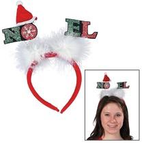 Felt Noel Headbands (6 PACK) Christmas Boppers - $8.54
