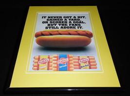 2010 Kahn's Hot Dogs 11x14 Framed ORIGINAL Advertisement - $32.36