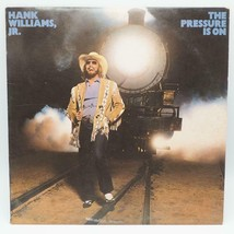 Vintage Hank Williams Jr. The Pressure Is On Record Album Vinyl LP NM - $9.89