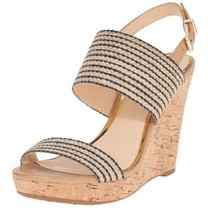 Women's Shoes Jessica Simpson JANIC Platform Wedge Sandal Cork Natural B... - $44.95