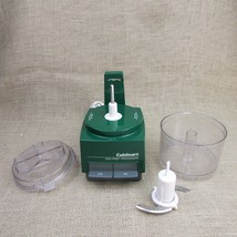 Cuisinart Mini-Prep Food Processor DLC-1TX GREEN complete WORKS - $20.75