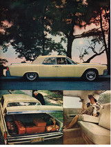 Vintage 1964 Magazine Ad Lincoln Notice In Pictures The Spaciousness & Sleekness - $5.93