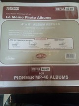 Pioneer Refill 46-MP For Pioneer Albulms Archival Acid Free Photo Safe - $30.57