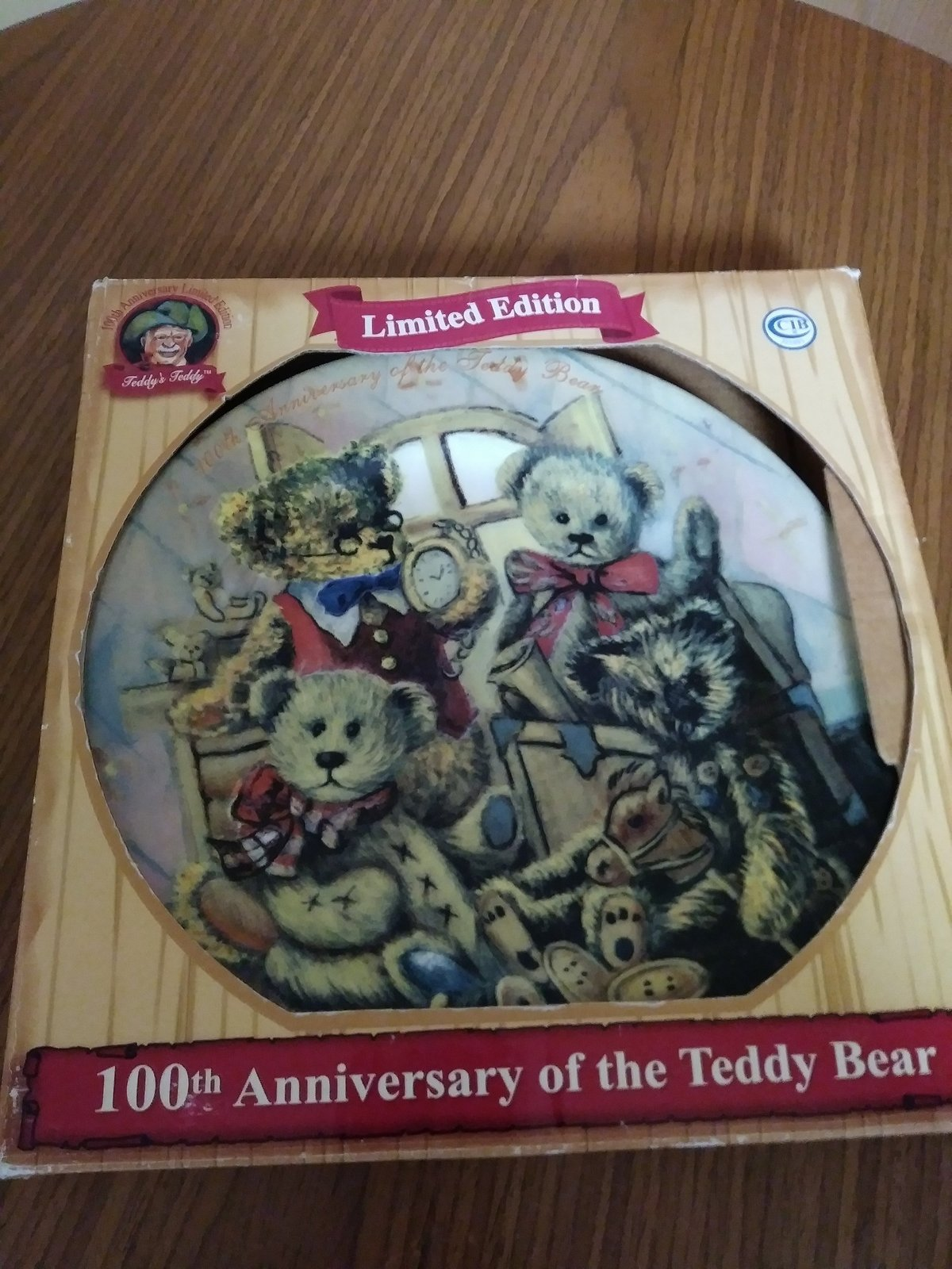 100th Anniversary of The Teddy Bear 1902-2002 Beloved President Theodore Rooseve