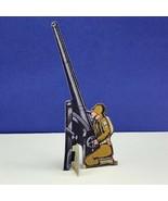 Bomber Raid vtg board game piece 1943 Fairchild toy soldier anti aircraf... - $34.60