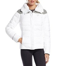 NEW NWT PUMA FERRARI CLASSIC PREMIUM WOMEN'S DOWN ZIP UP JACKET WHITE 564211