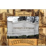 University of Pittsburgh Laser Engraved Wood Picture Frame (5 x 7) - $29.46