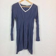 Athleta Kali Kurta Size S Tunic Swim Coverup Dress Gauze Cotton Small - $23.31