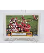 1995 Shell Fleer Football Super Bowl Game Cards - Complete Set of 10 - $9.78